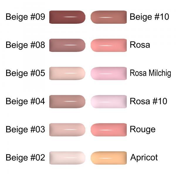 GS-Nails 5ml Camouflage Gel HEMA Free Make Up UV Gel Cover Gel für Allergiker