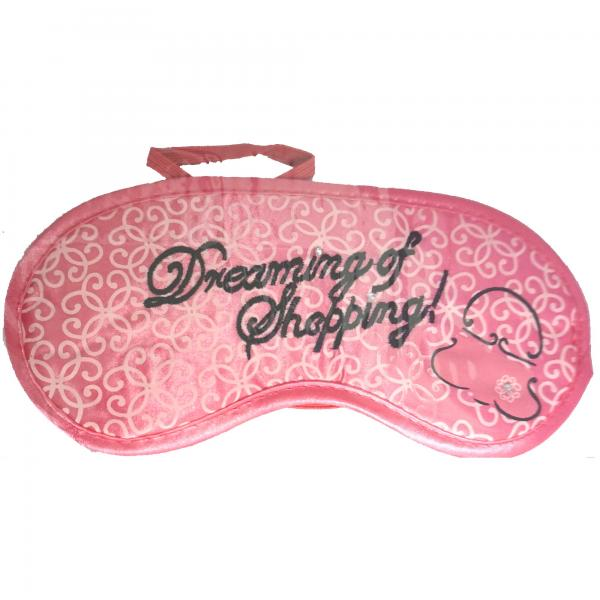 Schlafmaske Pink Augenmaske Eye Reise Maske Augenbinde Travel Sleep Mask