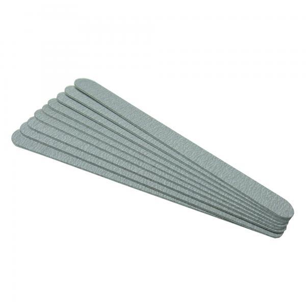 GS-Nails Zebra Wechselfeile Gerade K150 für Edelstahlboard 180x19mm Feilblatt