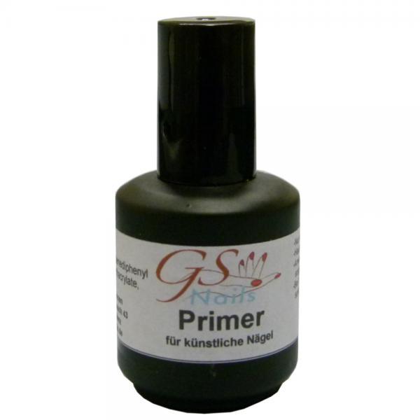 GS-Nails Primer 15 ml Haftverstärker Haftvermittler 15ml in Pinselflasche